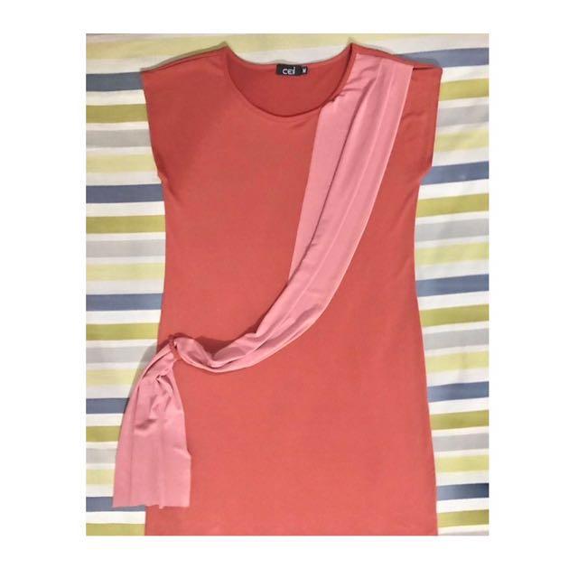 CEIL ORANGE DRESS