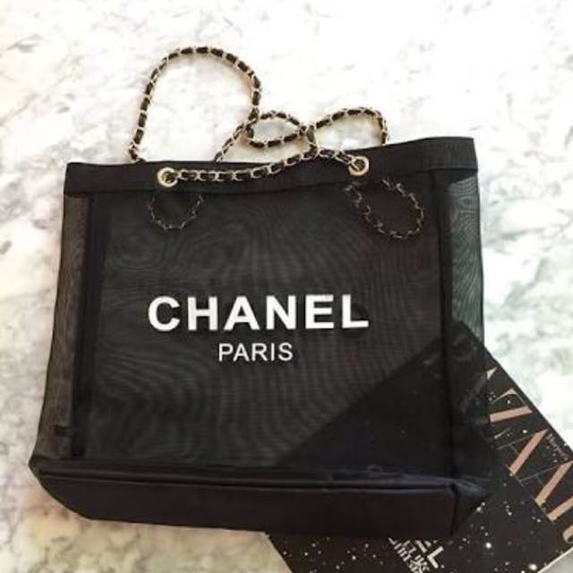 Chanel Mesh Chains Tote Bag