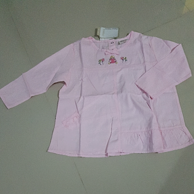 CLEARANCE Girl's Pink Long Sleeve Top (3T)