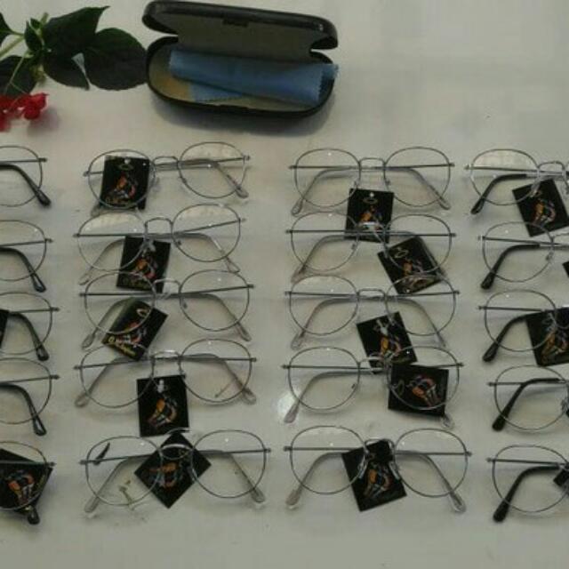 CUCI GUDANG!!! Kacamata OVAL VINTAGE