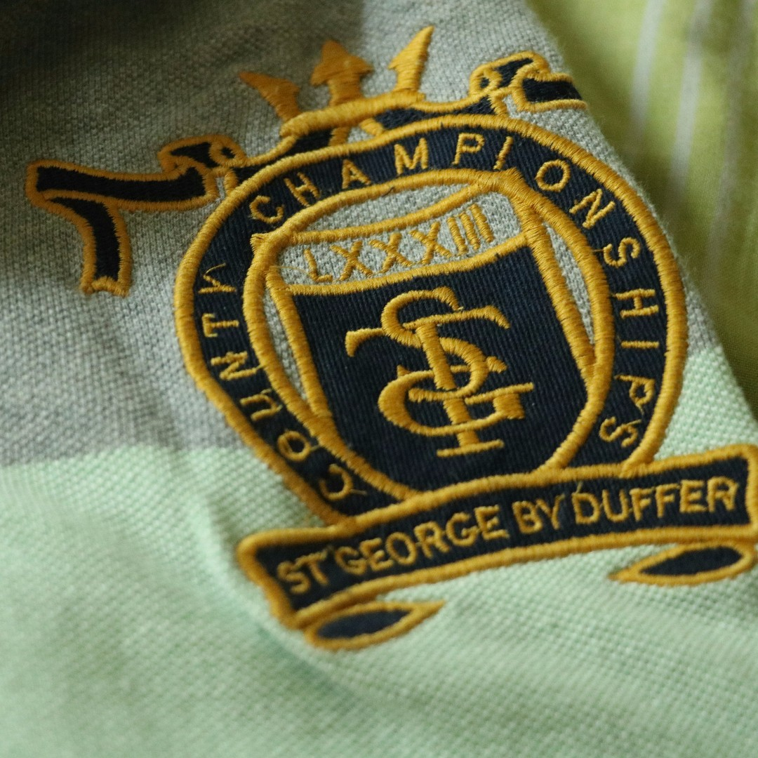 St. George by Duffer Polo Ralph Lauren Lacoste Burberry Nautica Calvin Klein Tommy Hilfiger Penguin Polo Collared Shirt