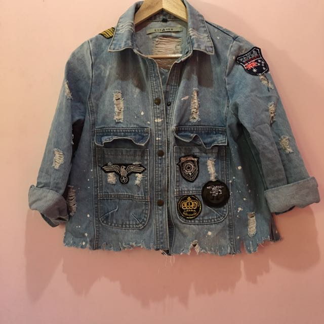 Denim Jacket Patch