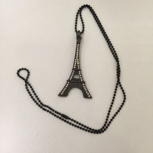 Eiffel Tower long necklace