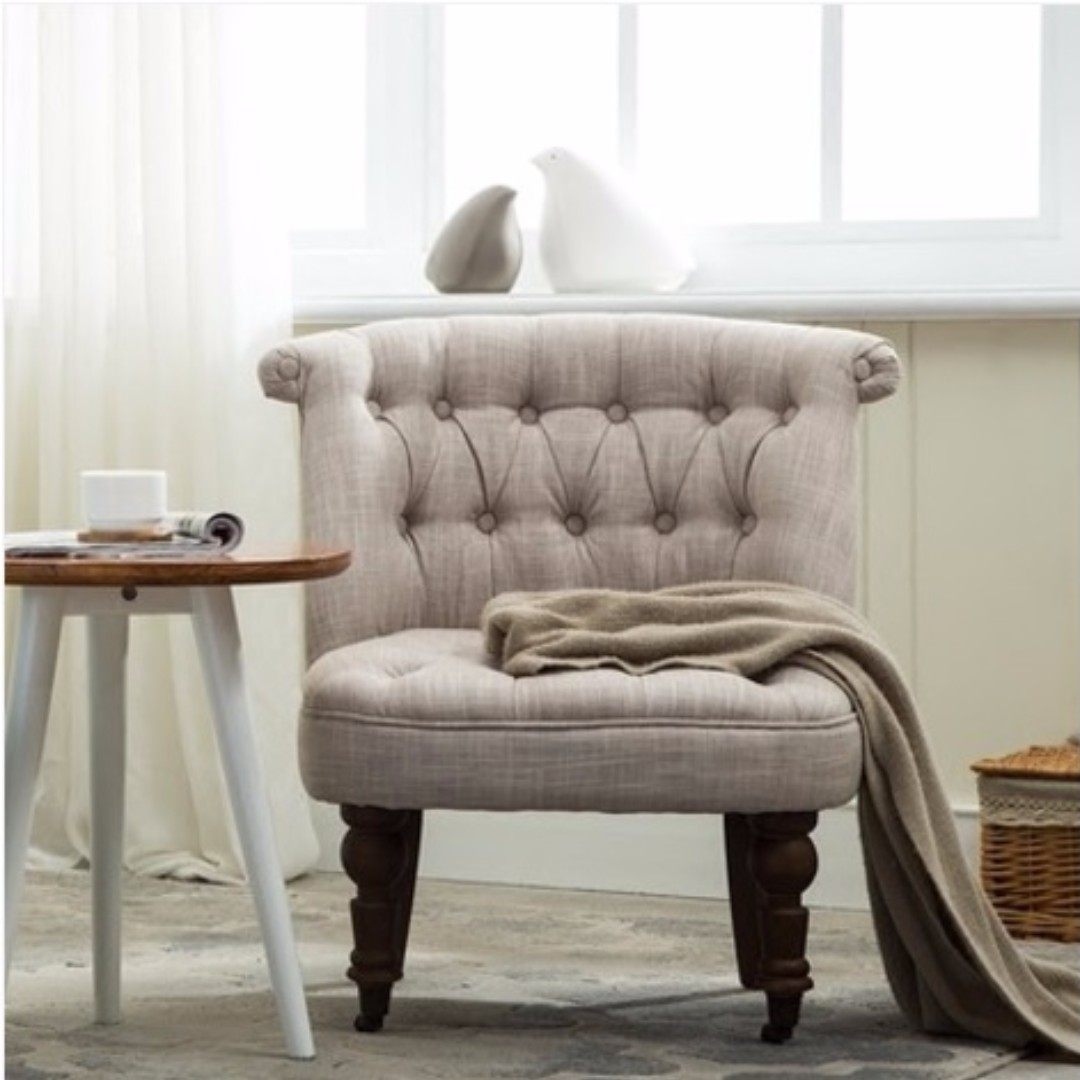 European Royal Sofa Chair Single Seater Furniture Sofas On Carousell