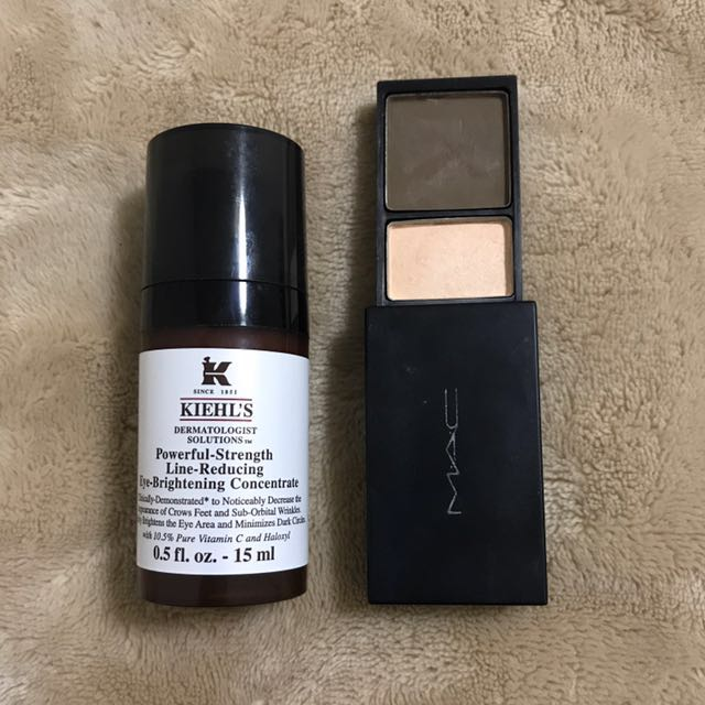 Eye care set Kiehl's/MAC