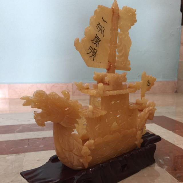 Feng Shui antique Ship
