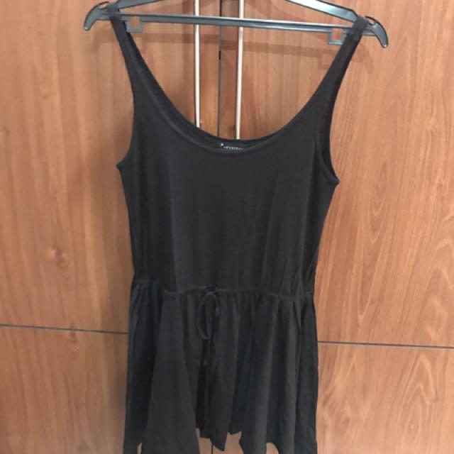 Forever21 summer dress black