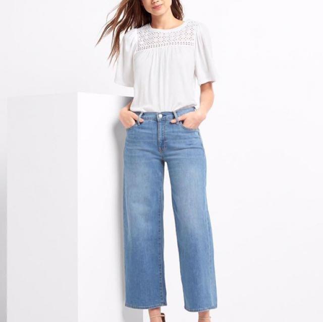 Gap Wide Leg - Size: 25
