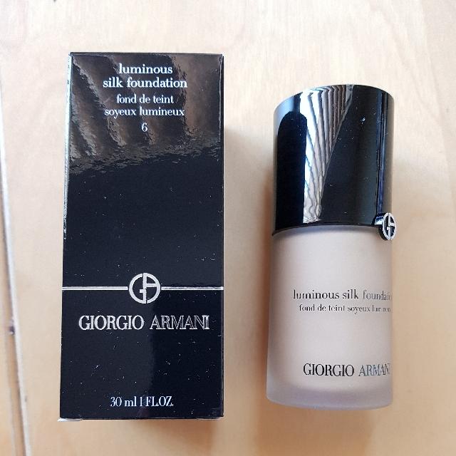 Giorgio Armani Luminous Silk Foundation Shade 6