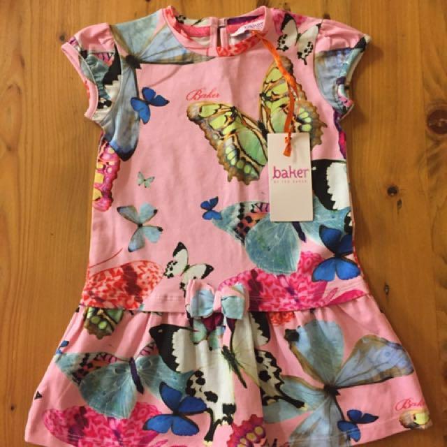 Girls Ted Baker Dress - Size 12-18 months