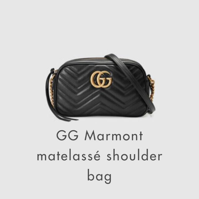 cc79a6288 Gucci Marmont Bag Medium, Luxury, Bags & Wallets on Carousell