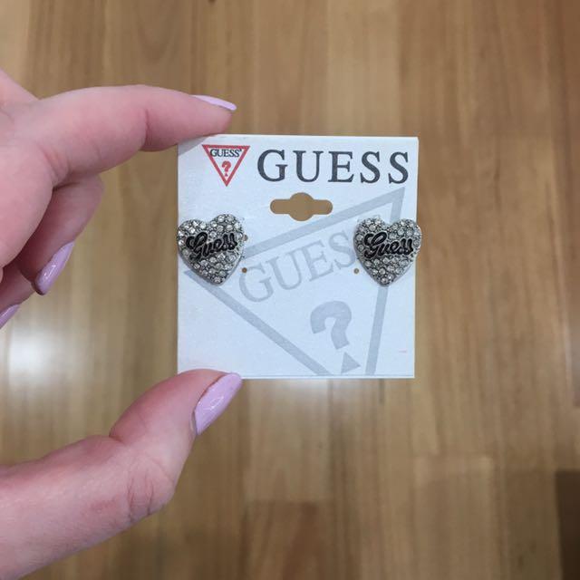Guess earrings