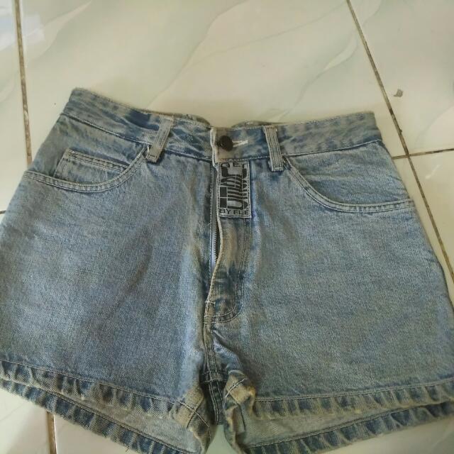 Hotpants Highwasit Jeans