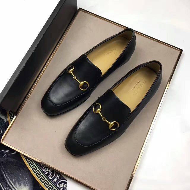 f7ee9b07a4a8 Instock) Gucci Jordaan Leather Loafer