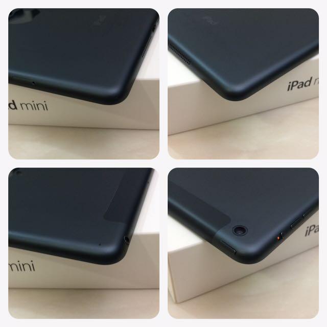 iPad mini 16G Cellular 可插sim卡 黑色