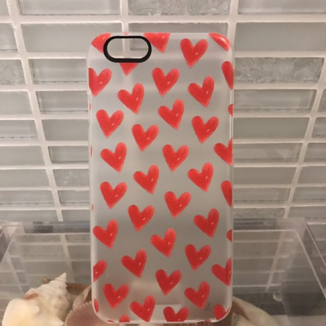 iPhone 6 Red Heart Case