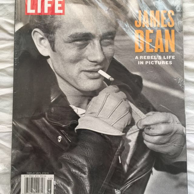 James Dean Cover Of Life Magazine