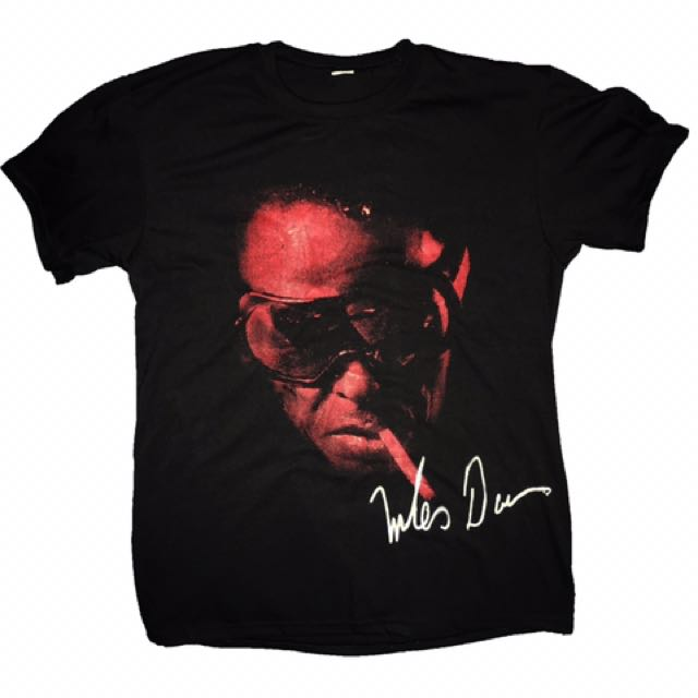 Jazz Icons Tee: Miles Davis