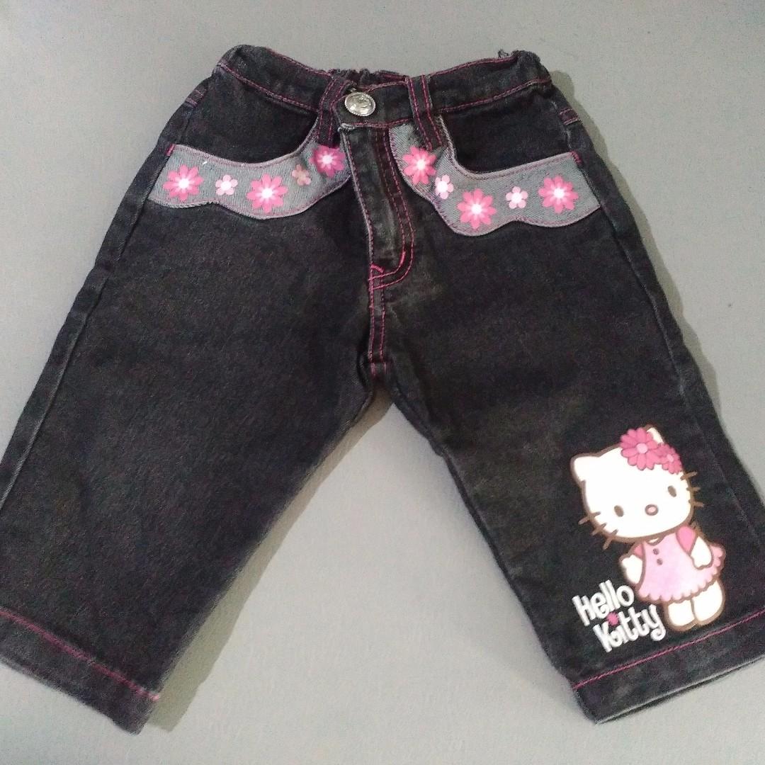 Jeans Hello Kitty 2 tahun