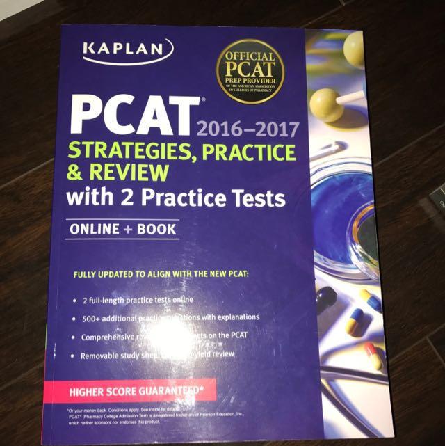 KAPLAN PCAT: Strategies, Practice, And Review