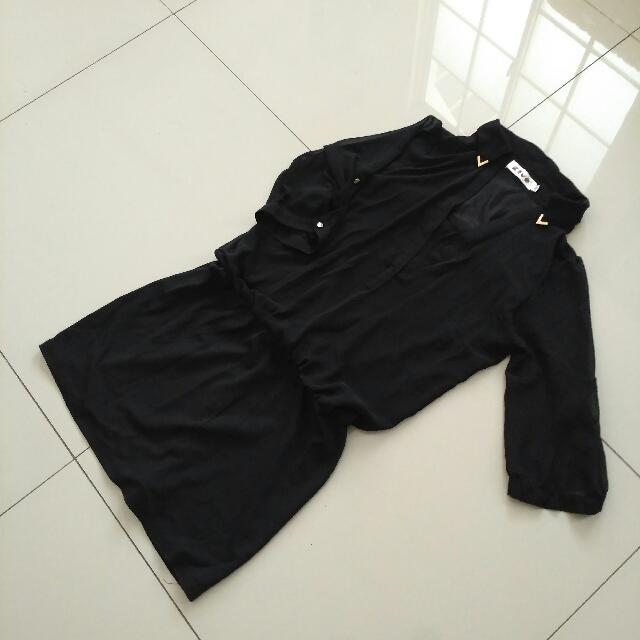 Kiyo Black Dress