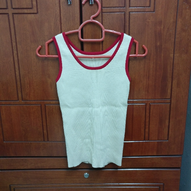 Knitted Nude Singlet