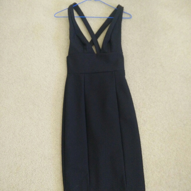 kookai black dress size 36