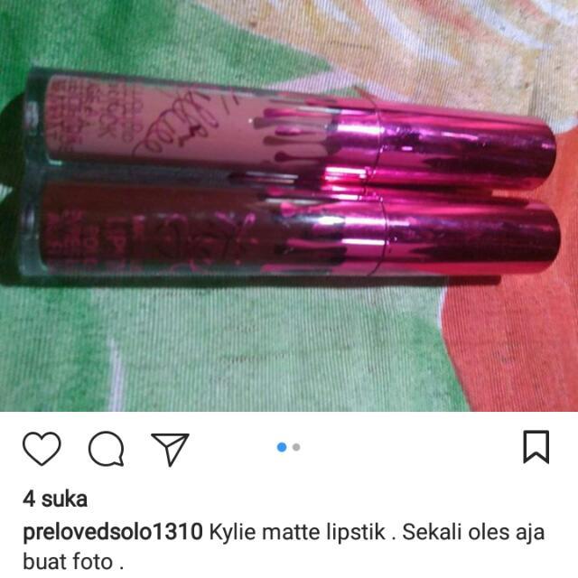 Kylie Matte Lipstik