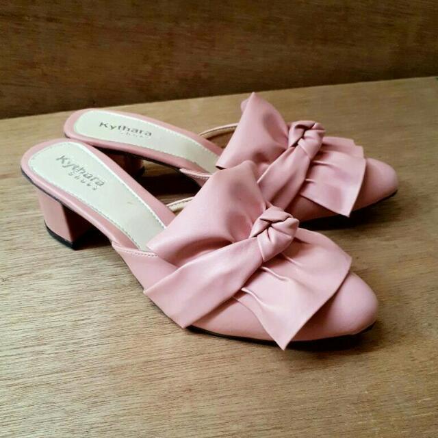 Leather Sandal / Slop Wanita / Sepatu Wanita / Sepatu Termurah