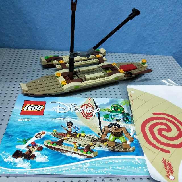 Lego 41150 Moana Sail Boat Only, Toys & Games, Bricks & Figurines on ...