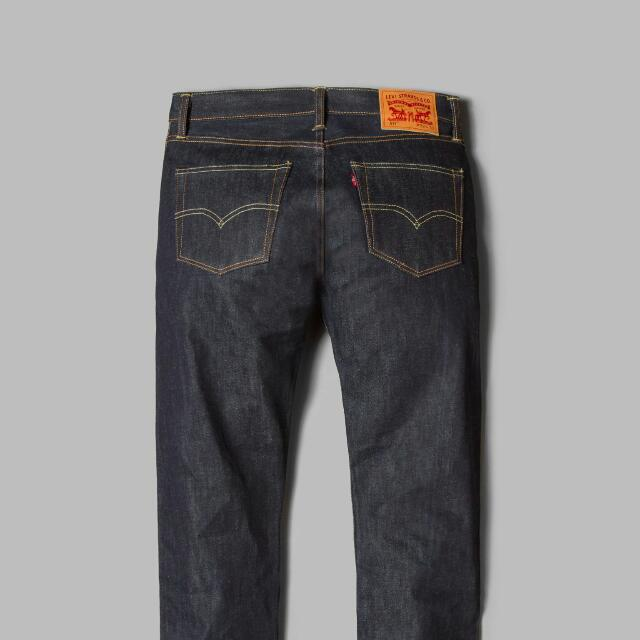 14df63512a0 Levis 511 Raw Denim Selvedge