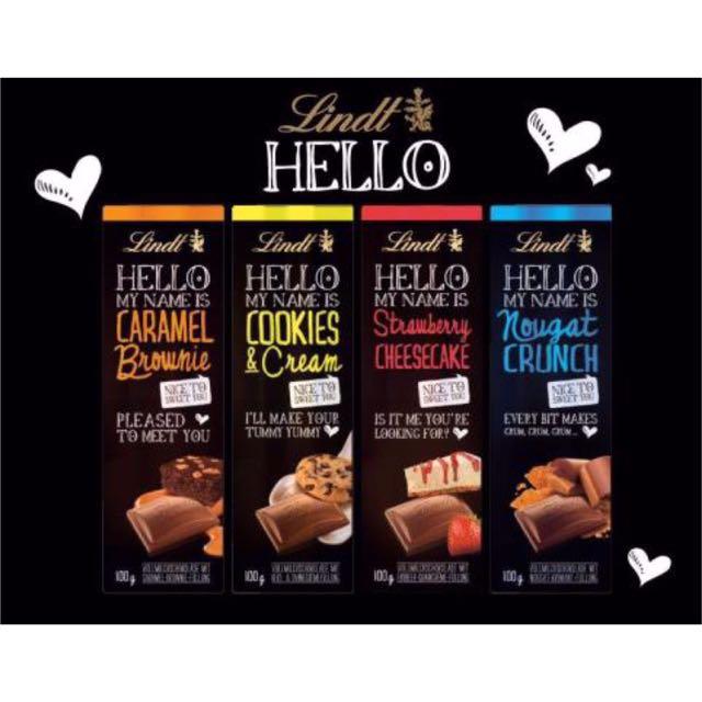 Lindt瑞士蓮Hello系列巧克力(德國直購)