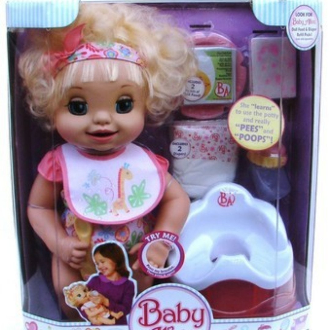LOOKING FOR: ORIGINAL Baby Alive Learns to Potty