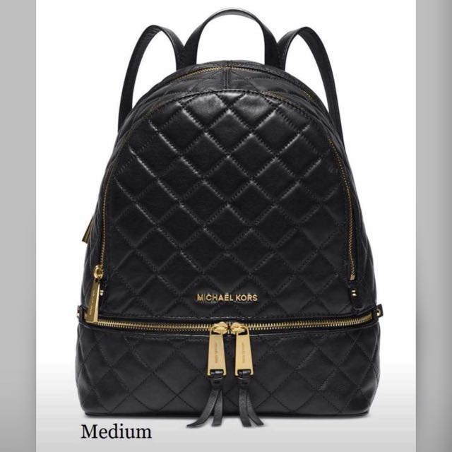 6a136dcf3114 Michael Kor Backpack, Luxury, Bags & Wallets on Carousell