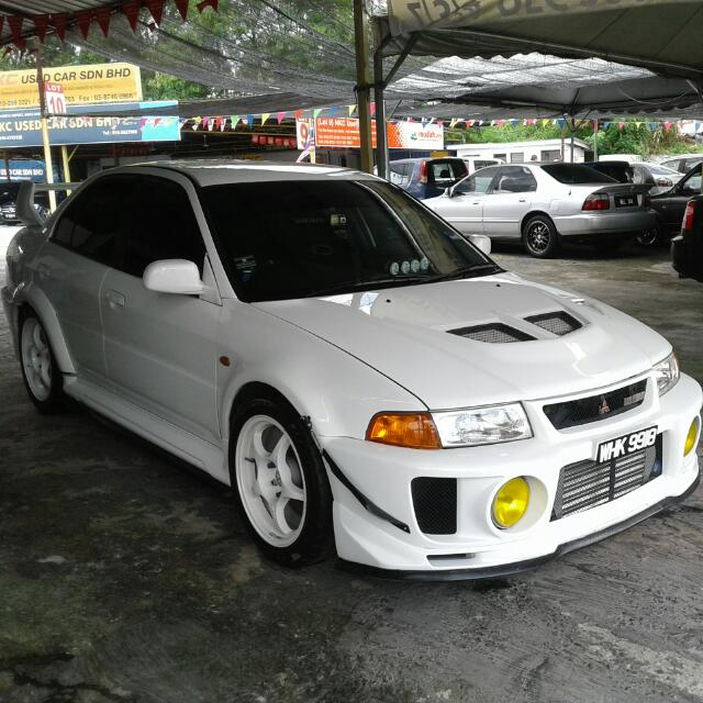 Mitsubishi Evo 6, Cars, Cars for Sale on Carousell