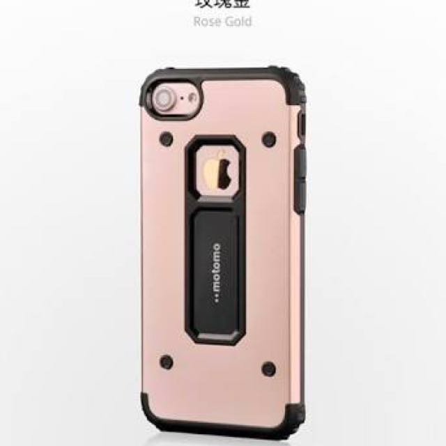 MOTOMO DUALPRO SHOCKPROOF CASE FOR IPHONE 7 PLUS IN ROSE GOLD