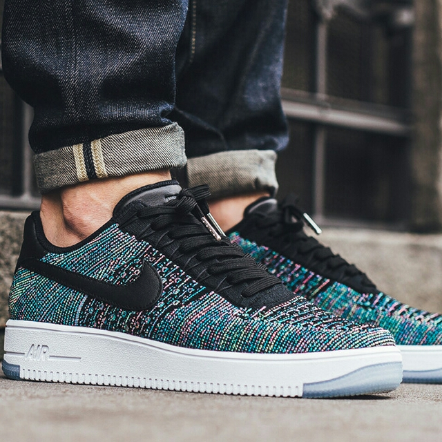 nike air force 1 ultra flyknit low zwart