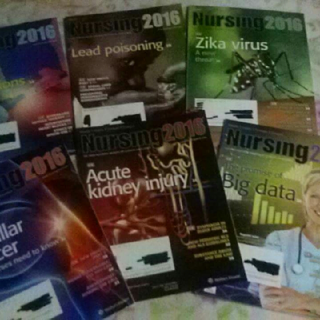 Nursing magazines and American Journal of Nursing