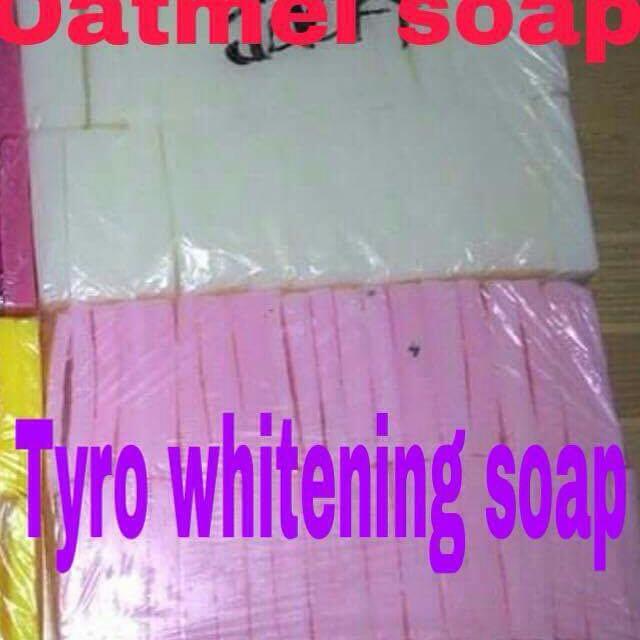 Oatmeal Soap & Tyro Whitening Soap