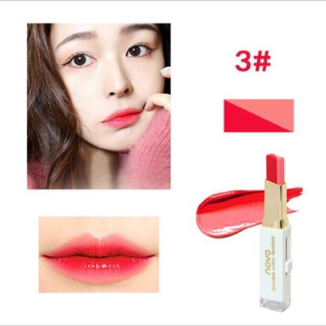 Open PO lipstick ombre