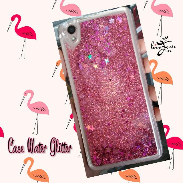 [OPPO] NEO 7 Case Water Glitter Pink