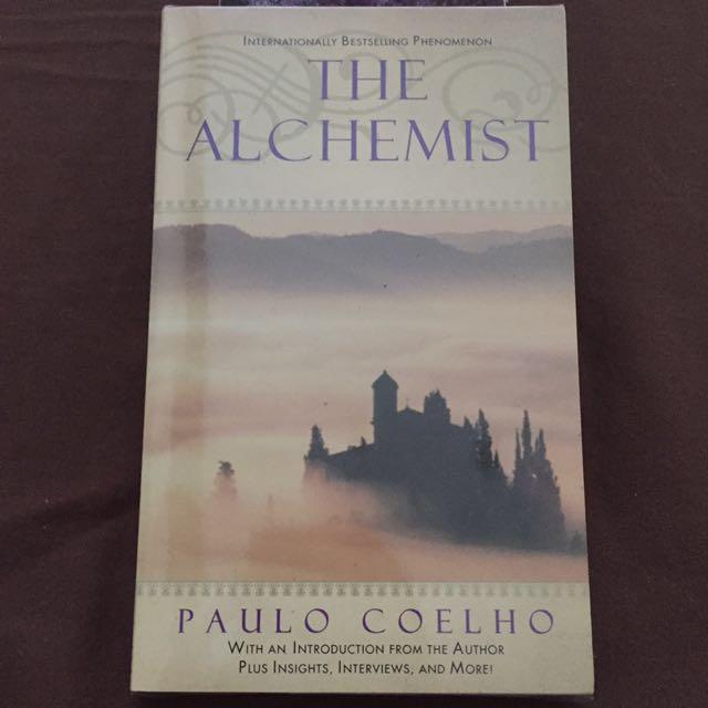 "Paulo Coelho ""The Alchemist"" Paperback"