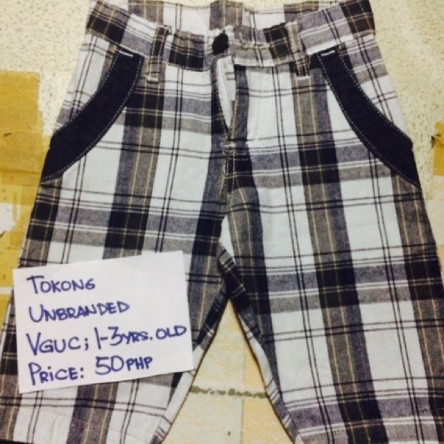 Plaid Shorts (Unbranded)