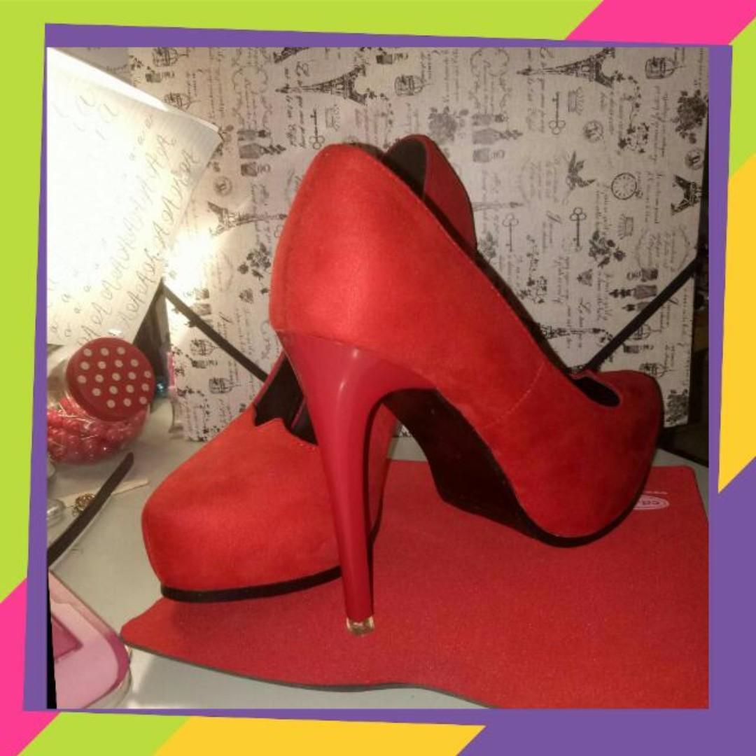 Please adopt me! -Red Heels
