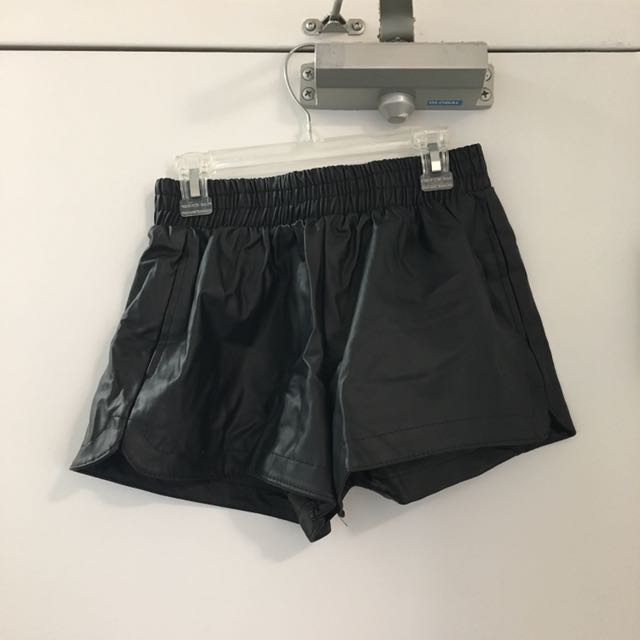 Pleather Shorts Size XS/S