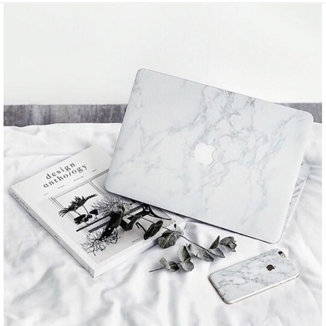 PREMIUM MARBLE SKIN FOR MACBOOK - LAST PIECE 💖💖