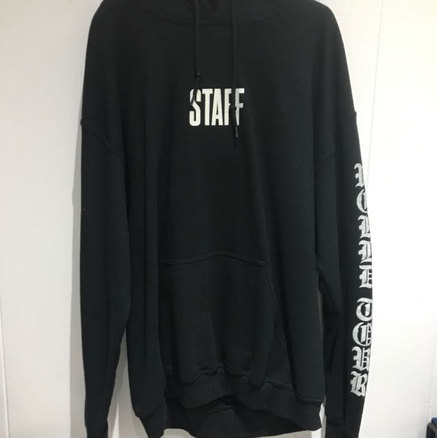 "PURPOSE TOUR ""STAFF"" HOODIE"