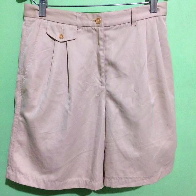 8802f0251832a Ralph Lauren Light Brown High waisted shorts