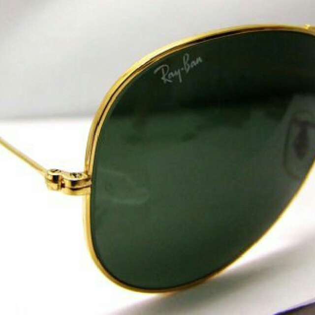 Polarised RayBan AVIATOR Remix - Purchase Receipt Available