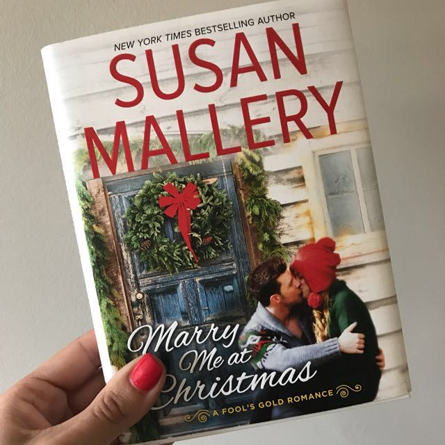 Romance Novel Susan Mallery Marry Me At Christmas